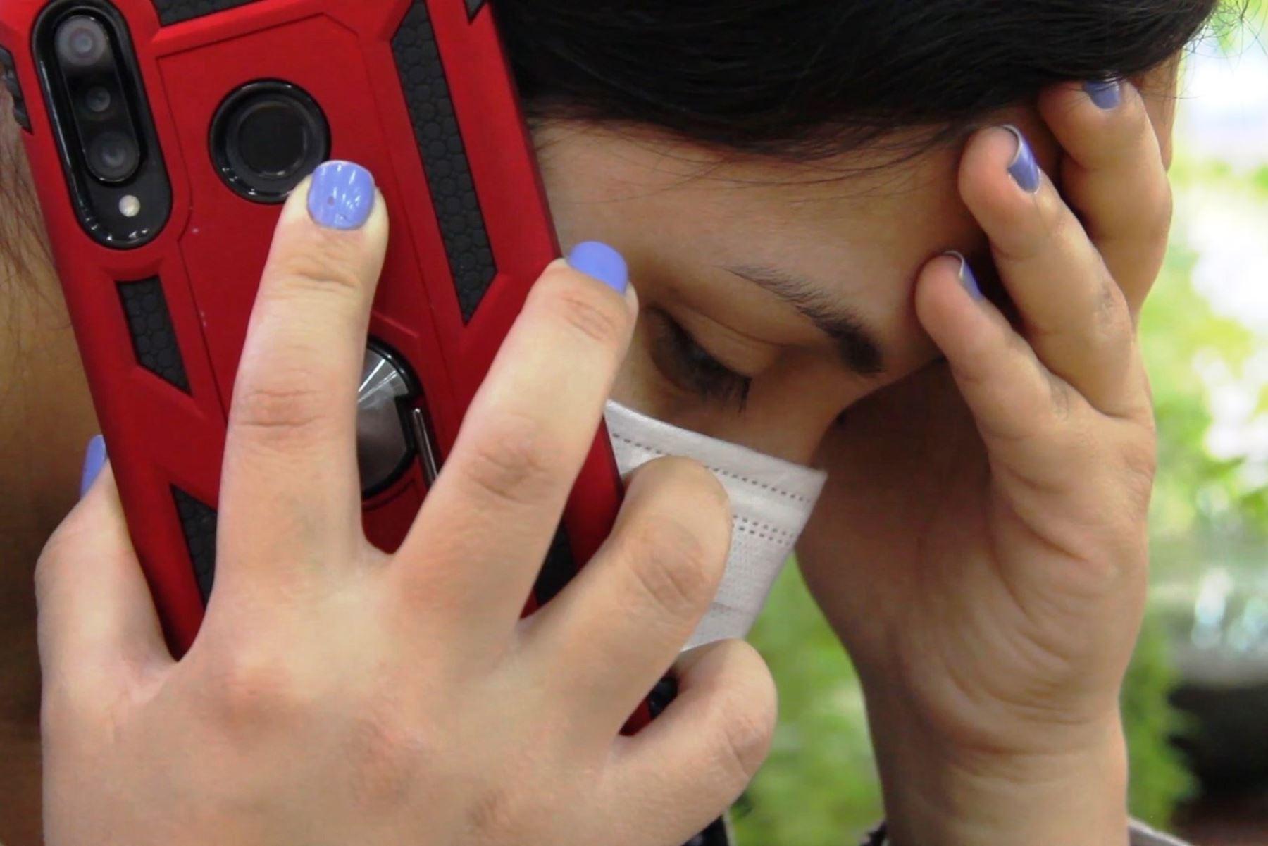 EsSalud atendió más de 3,000 llamadas de violencia familiar durante la pandemia. Foto: ANDINA/Difusión.