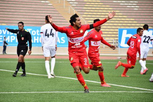 Sport Huancayo gana 4 a 3 a la U. San Martín  por la fecha 14 del Torneo Apertura