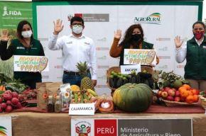 El proyecto Avanzar Rural, que será ejecutado por Agro Rural, empezará el 1 de octubre. Foto: ANDINA/Difusión