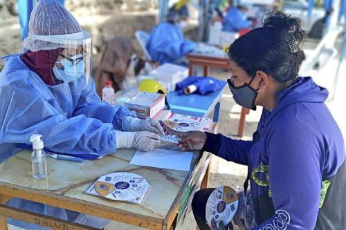 Covid-19: Minsa realiza intervenciones de salud en Comas, Surquillo y VES