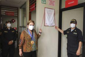 La ministra de la Mujer y Problaciones Vulnerables, Rosario Sasieta, cumplió visita de trabajo en la región Lambayeque. Foto: ANDINA/Difusión