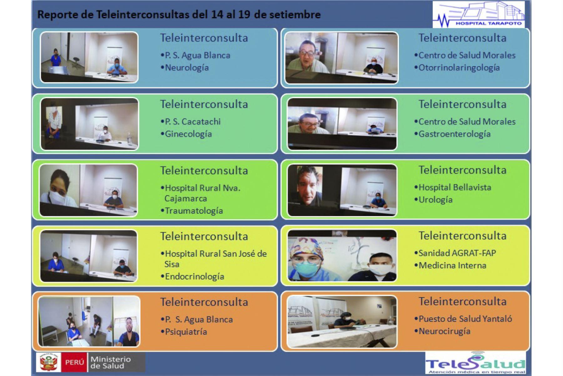 Por medio del portal Teleatiendo y la Línea 113, los servicios de telemedicina están al alcance de todos. Foto: ANDINA/Minsa