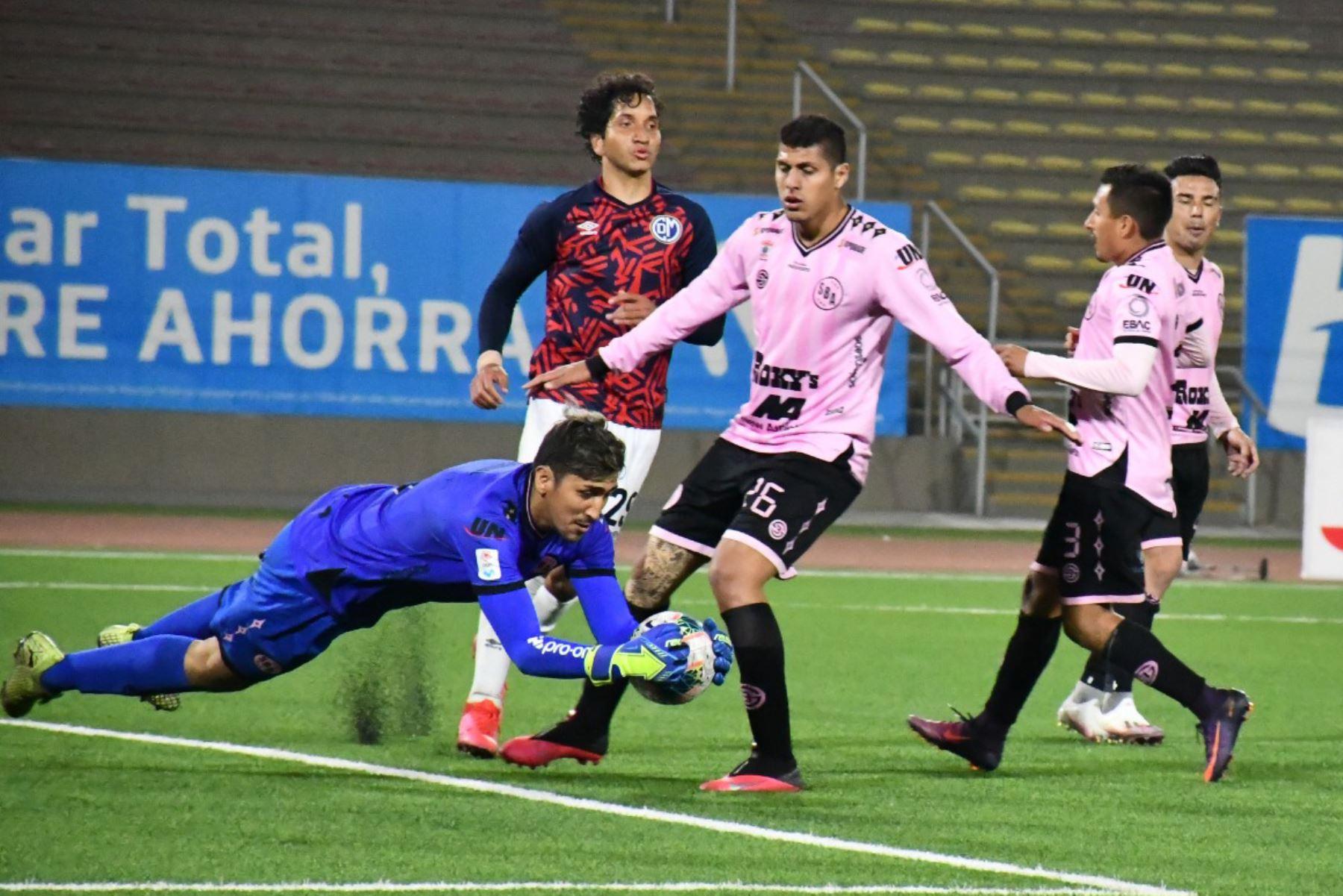 Sport Boys  y  Deportivo Municipal se enfrentan por la fecha 14 del Torneo Apertura,  en el estadio San Marcos. Foto: @LigaFutProf