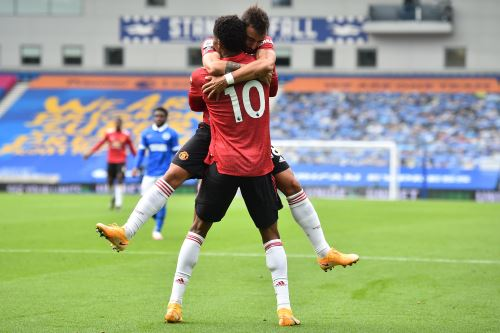Manchester United vence 3 - 2 a Brighton por la Premier League