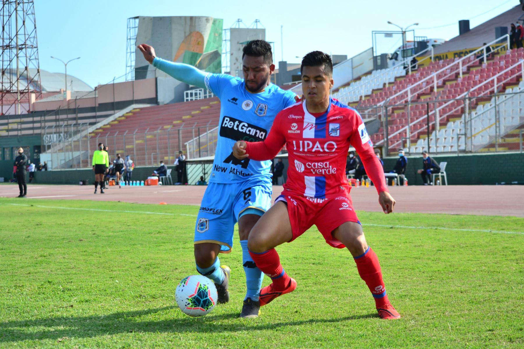 Mannucci   y Binacional   se enfrentan por la fecha 14 del Torneo Apertura, en el estadio Miguel Grau. Foto: @LigaFutProf