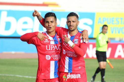 Mannucci  gana 1 a 0 al  Binacional   por la fecha 14 del Torneo Apertura, en el estadio Miguel Grau
