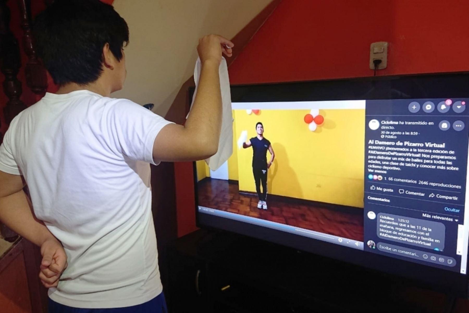 Disfruta hoy desde casa el programa Al Damero de Pizarro virtual. Foto: ANDINA/Difusión.
