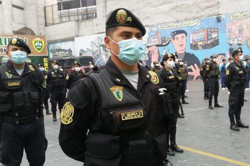 Policía Nacional del Perú. Foto: ANDINA/difusión.