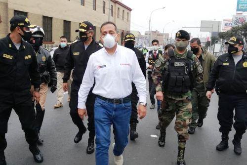 Mininter: Ministro del Interior, César Gentille, informó que el Escuadrón Verde será potenciado para reforzar lucha contra delitos menores. Foto: ANDINA/Difusión.
