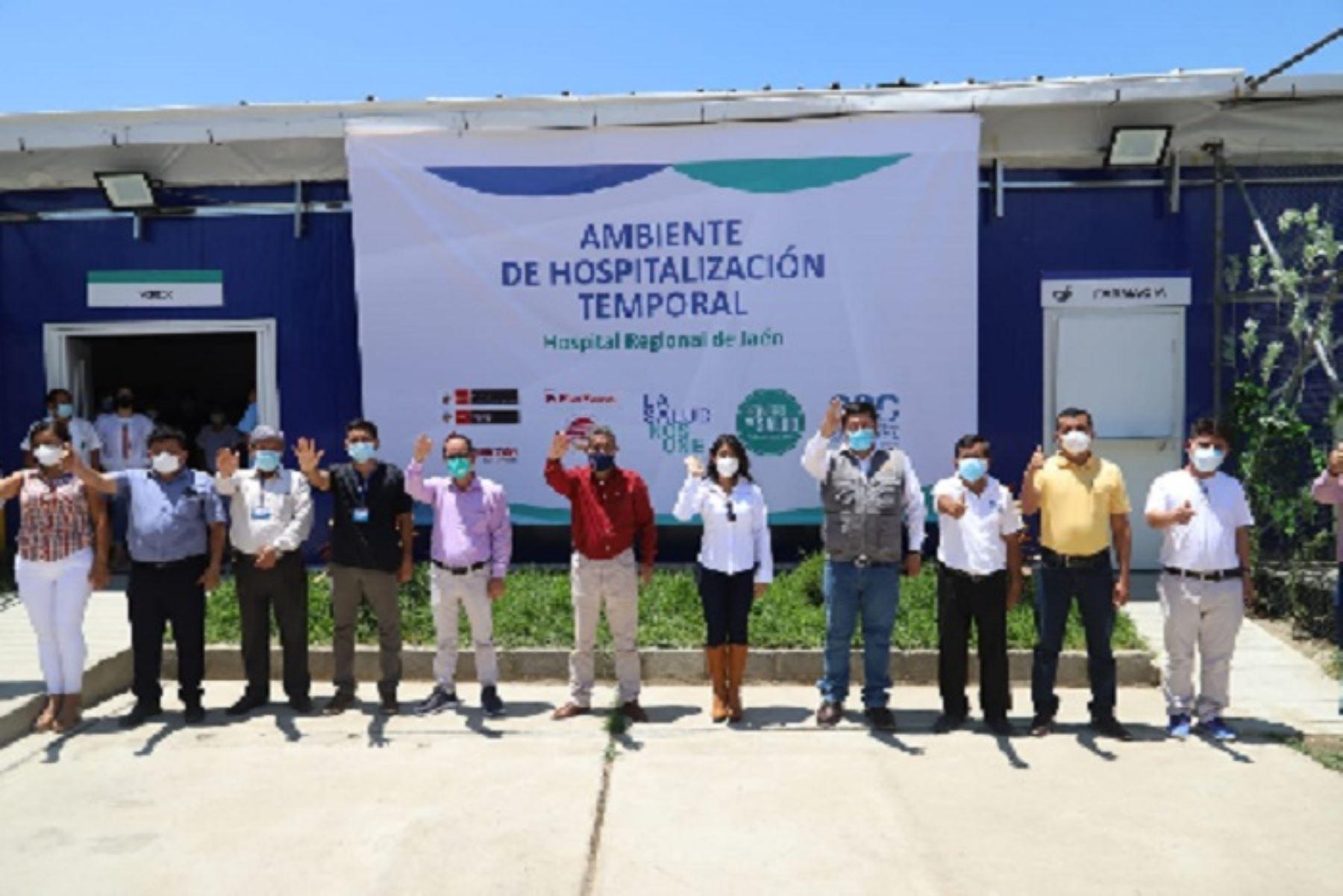 Covid-19: con 100 nuevas camas hospitalarias refuerzan atención en Cajamarca y Jaén