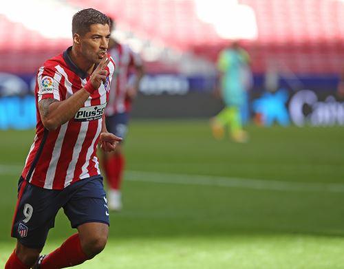 El delantero uruguayo, Luis Suárez tuvo un debut soñado con el Atlético de Madrid