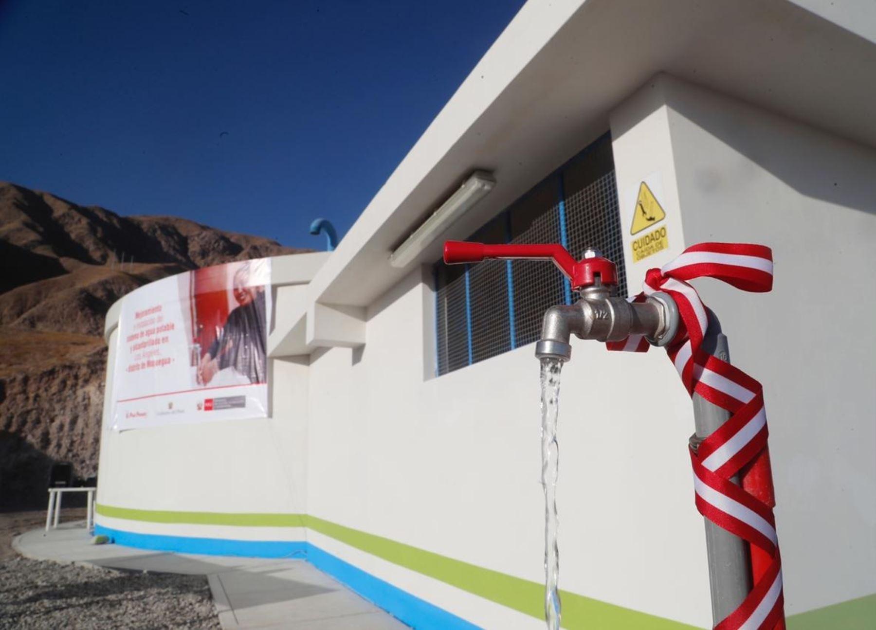 Ministerio de Vivienda transfiere S/ 30.8 millones a Moquegua para financiar proyecto de agua potable y alcantarillado en la provincia de General Sánchez Cerro. Los recursos forman parte del plan Arranca Perú 2. ANDINA/Difusión