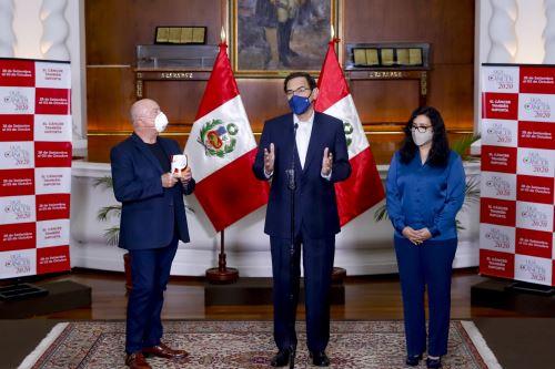 """El presidente Vizcarra y  la primera dama se unen a la primera maratón de recaudación  """"El Cáncer También Importa"""""""