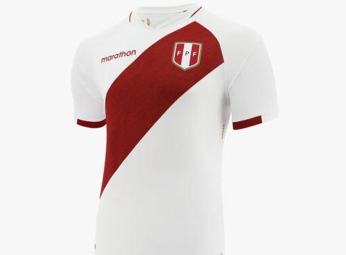 Nueva camiseta de la selección peruana
