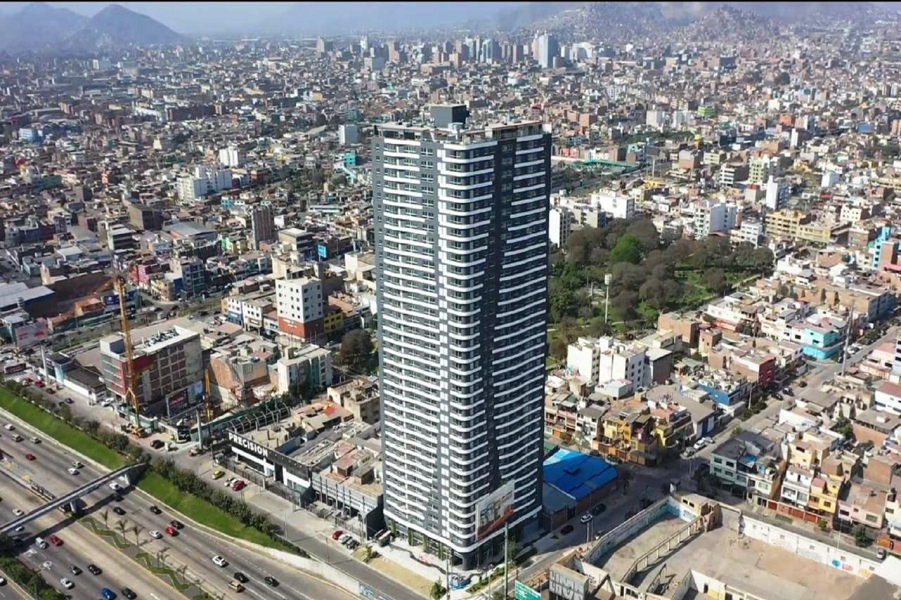 Concluyen edificio más alto de Lima Foto: Difusión