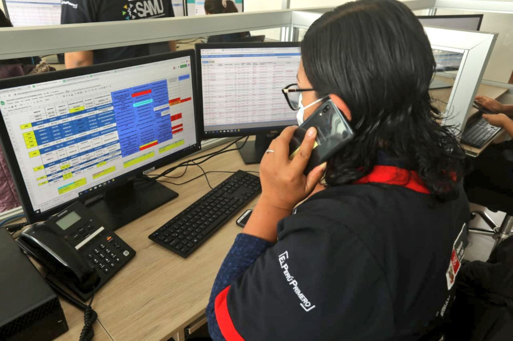 La nueva infraestructura permitirá incrementar el número de llamadas atendidas y construir un Sistema Único de Emergencias en Lima Metropolitana. Foto:ANDINA/Minsa