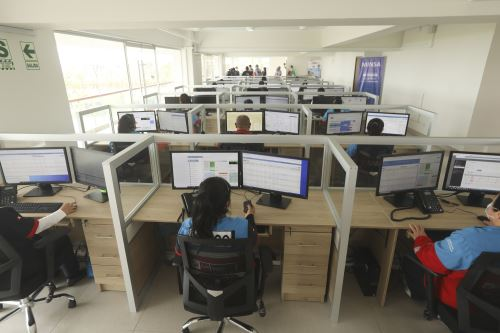 Coronavirus: Ministra de Salud inaugura la nueva sede de la Central 106 en San Isidro