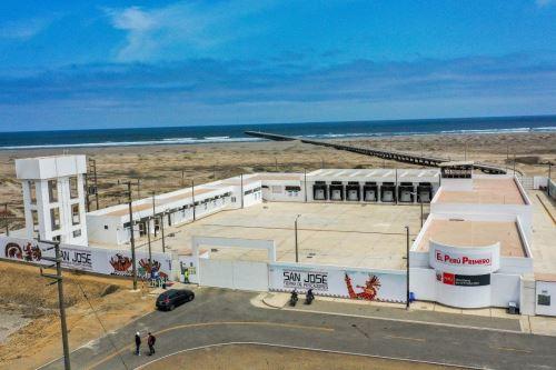 Ministro de la Producción  pone en marcha infraestructura pesquera artesanal moderna DPA San José en Lambayeque
