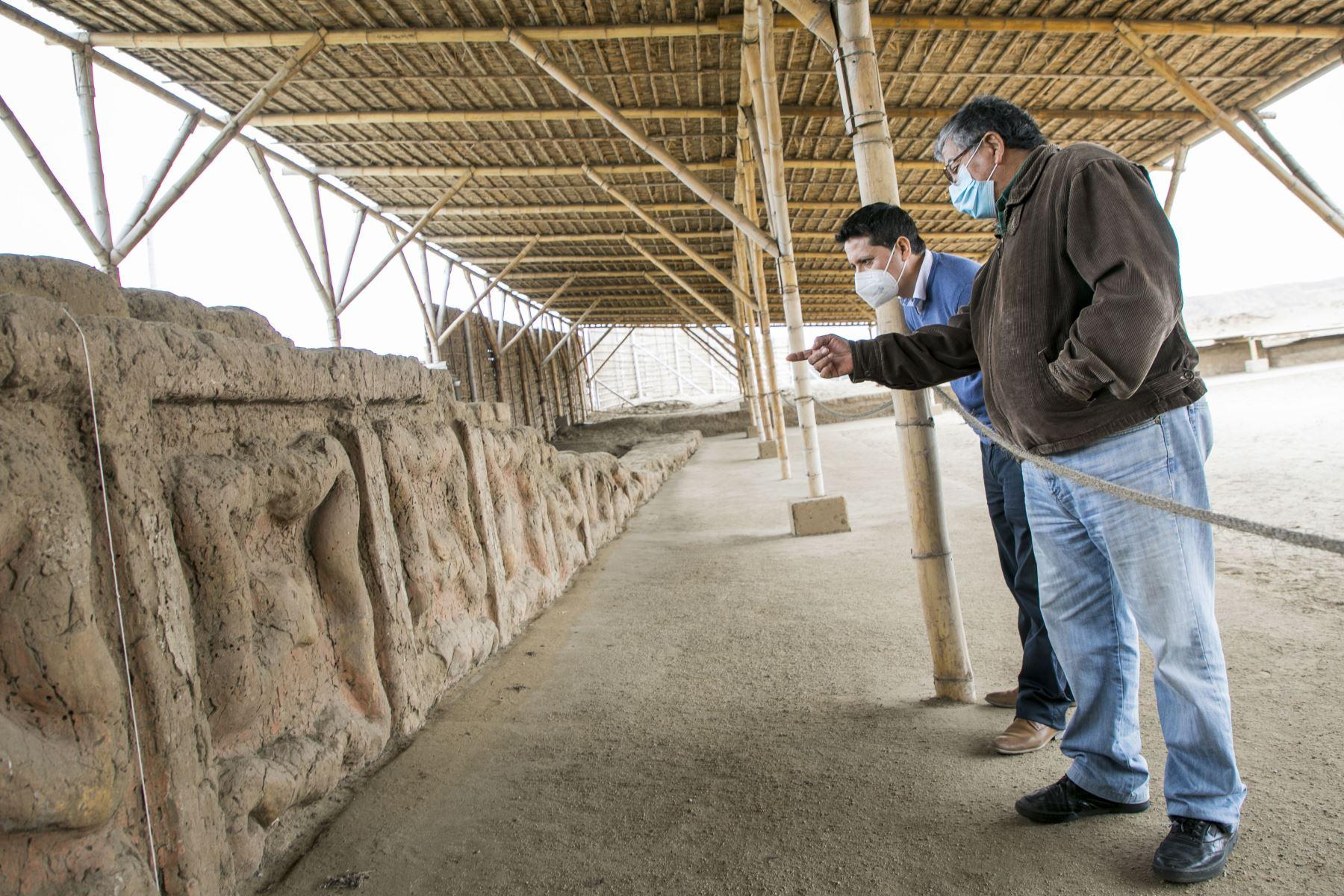 La Huaca de La Luna, sitio arqueológico de Trujillo, volverá a abrir sus puertas al público a partir del 4 de noviembre. ANDINA/archivo