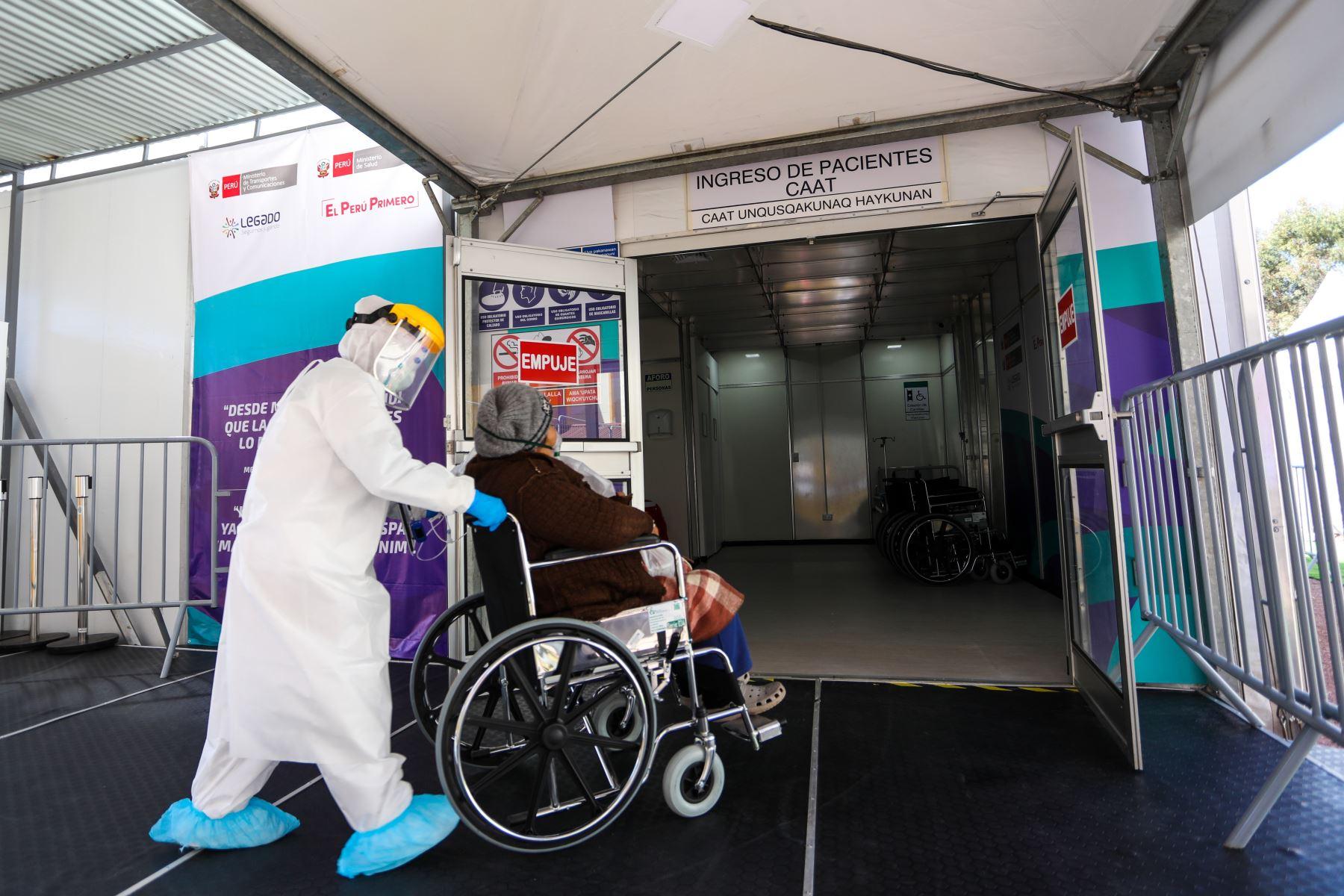 Centro de atención temporal de Juliaca recibe a sus primeros pacientes covid-19 | Noticias