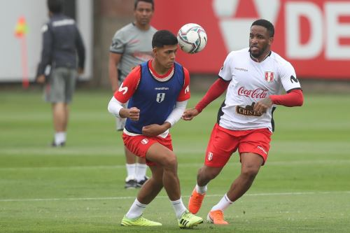 Selección peruana entrena por segundo día consecutivo previo a inicio de Clasificatorias