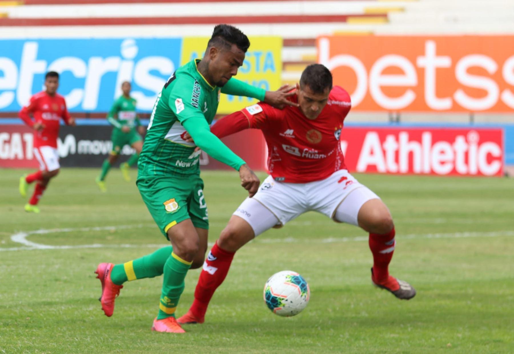 Cienciano y Sport Huancayo se enfrentan por la jornada 15 de la Liga 1, en el estadio Miguel Grau del Callao. Foto: @LigaFutProf