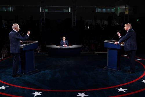EEUU: Donald Trump y Joe Biden se enfrentan en su primer debate electoral