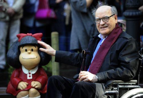 """Fallece """"Quino"""", padre de Mafalda, a los 88 años"""