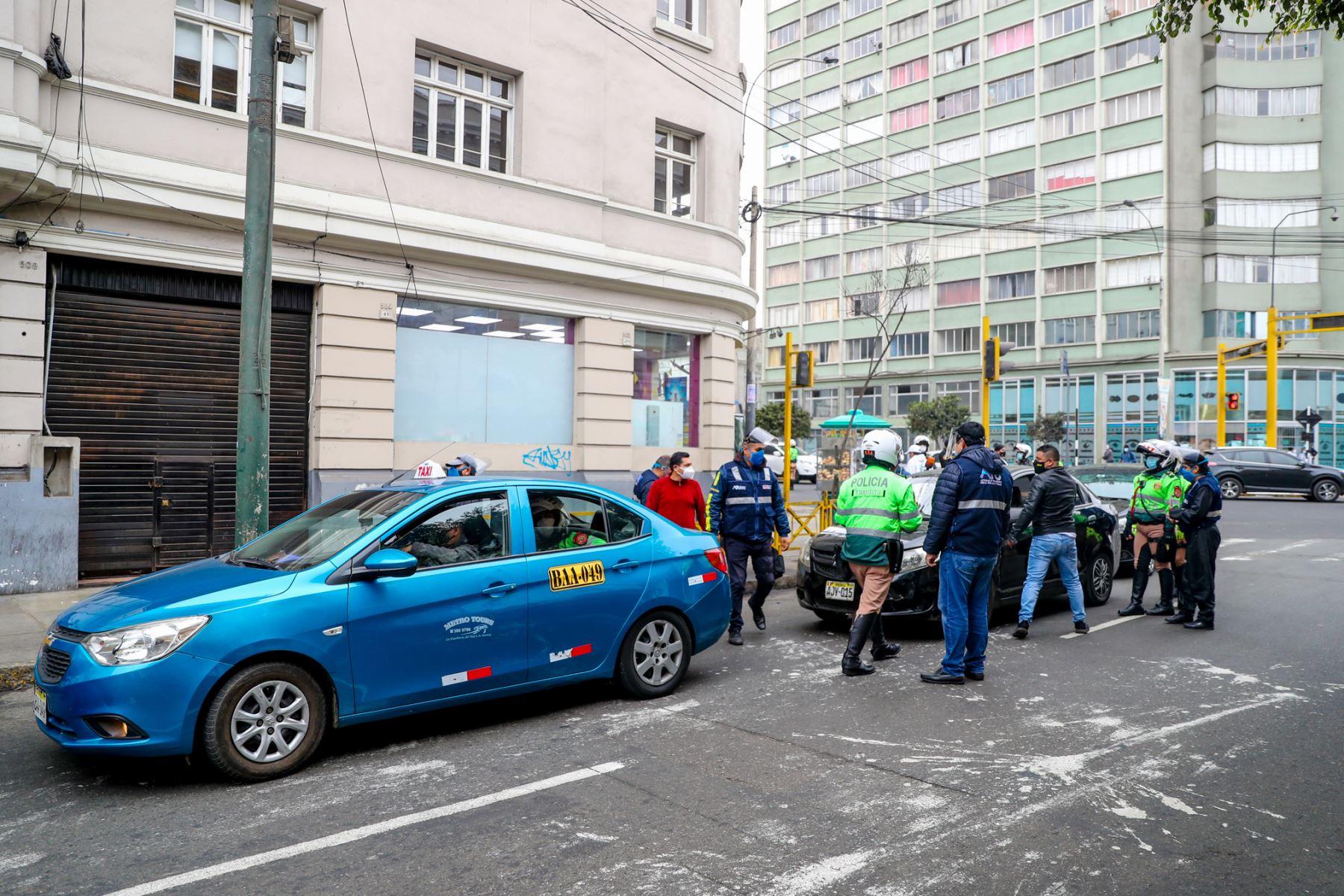 Con el objetivo de verificar que el servicio de transporte urbano de personas se preste con las habilitaciones correspondientes, la Autoridad de Transporte Urbano para Lima y Callao  Foto:ANDINA/ATU
