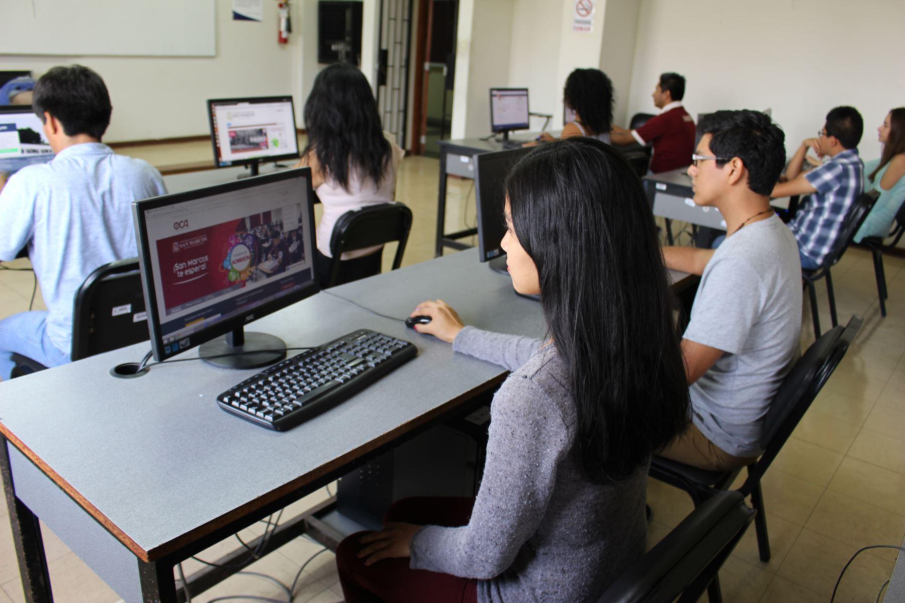 La universidad también instó a las empresas de telefonía a no realizar ningún tipo de mantenimiento a los servicios. Foto: UNMSM
