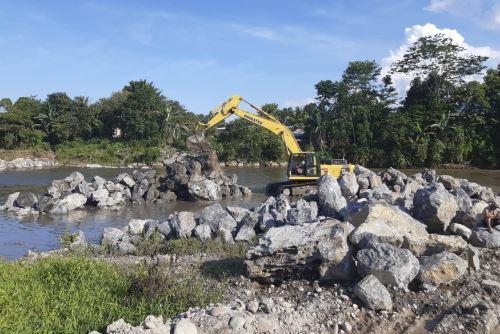 San Martín: Agro Rural culminó ejecución de 8 obras de mejoramiento de infraestructura de riego