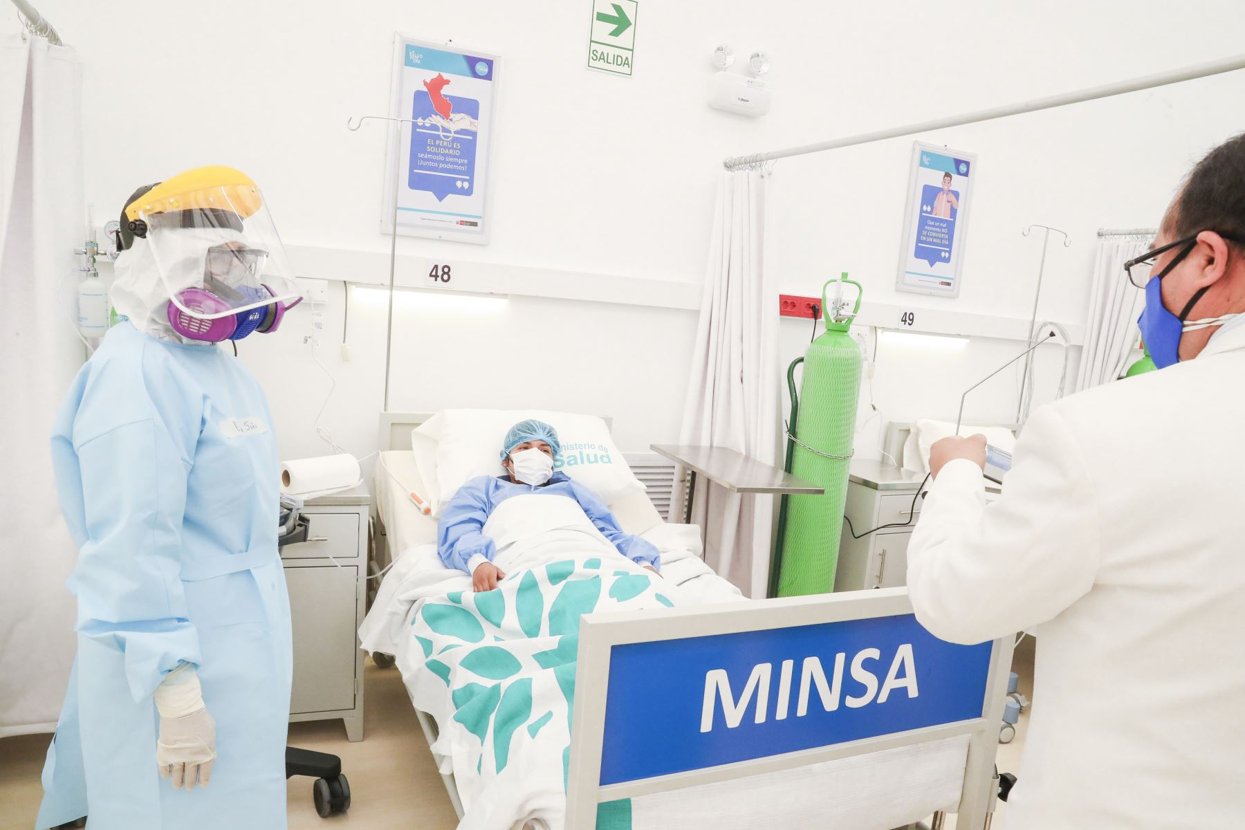 El número de contagios por covid-19 aumentó de ayer (29 de setiembre) a hoy en 2,861 casos, informó el Minsa. Foto: ANDINA/Prensa Presidencia