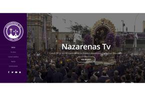 El canal en internet Nazarenas TV transmitirá las actividades en homenaje al Señor de los Milagros. ANDINA/Difusión