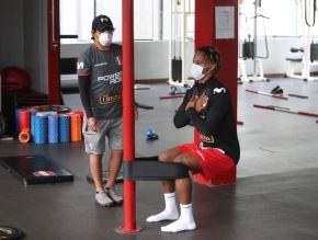 André Carrillo y Miguel Trauco se incorporan a las prácticas de la selección peruana
