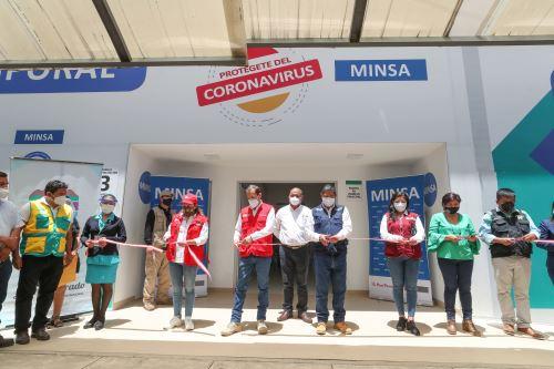 Huánuco: premier Martos realiza entrega de Centro de Atención Temporal del programa Turismo Emprende
