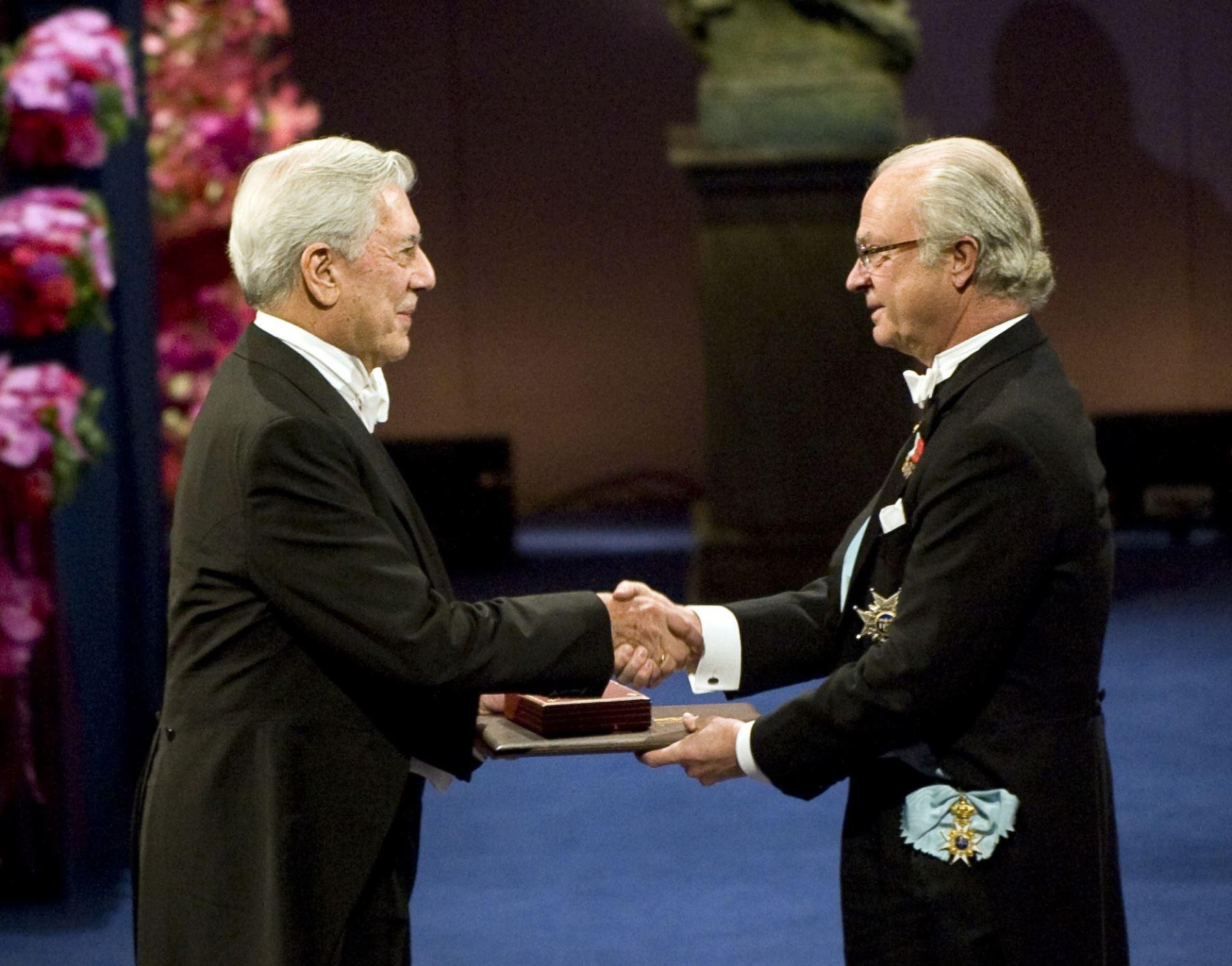 Mario Vargas Llosa, una década del Premio Nobel de Literatura | Noticias |  Agencia Peruana de Noticias Andina