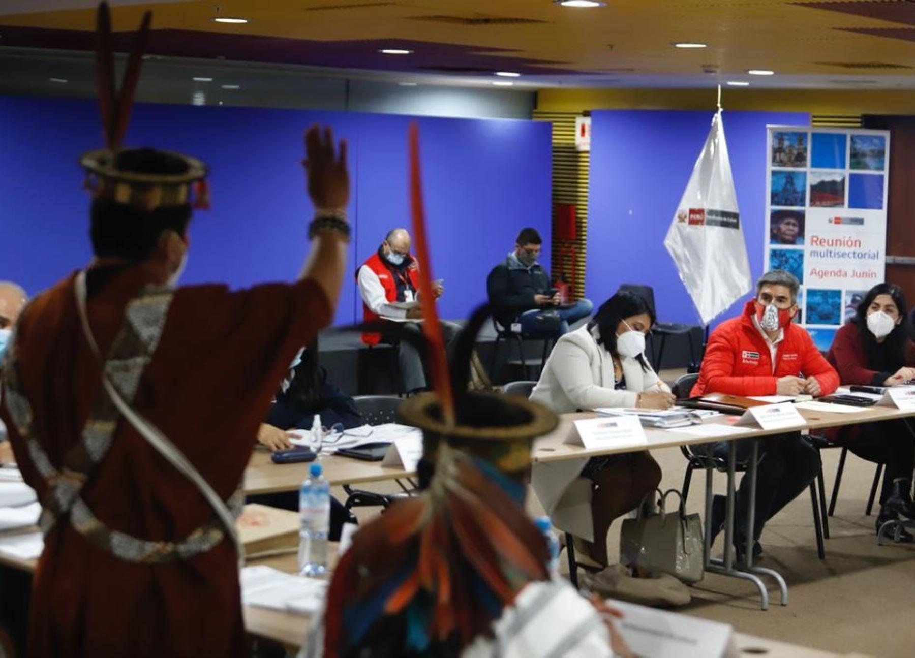 Ministerio de Cultura ratifica la articulación multisectorial en beneficio de pueblos indígenas de la selva de Junín. ANDINA/Difusión