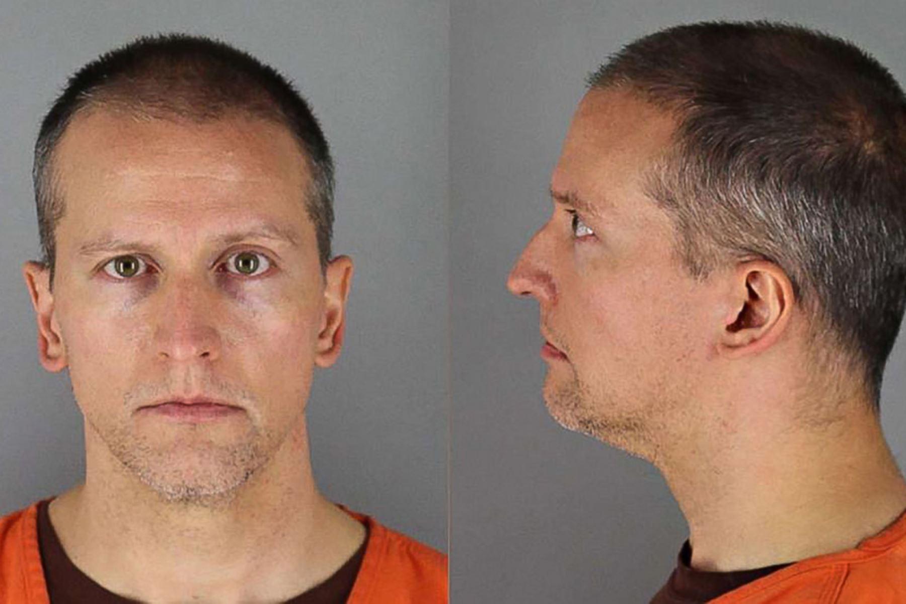 Chauvin será juzgado en marzo junto con tres excolegas acusados de complicidad en la muerte de Floyd. Foto: AFP