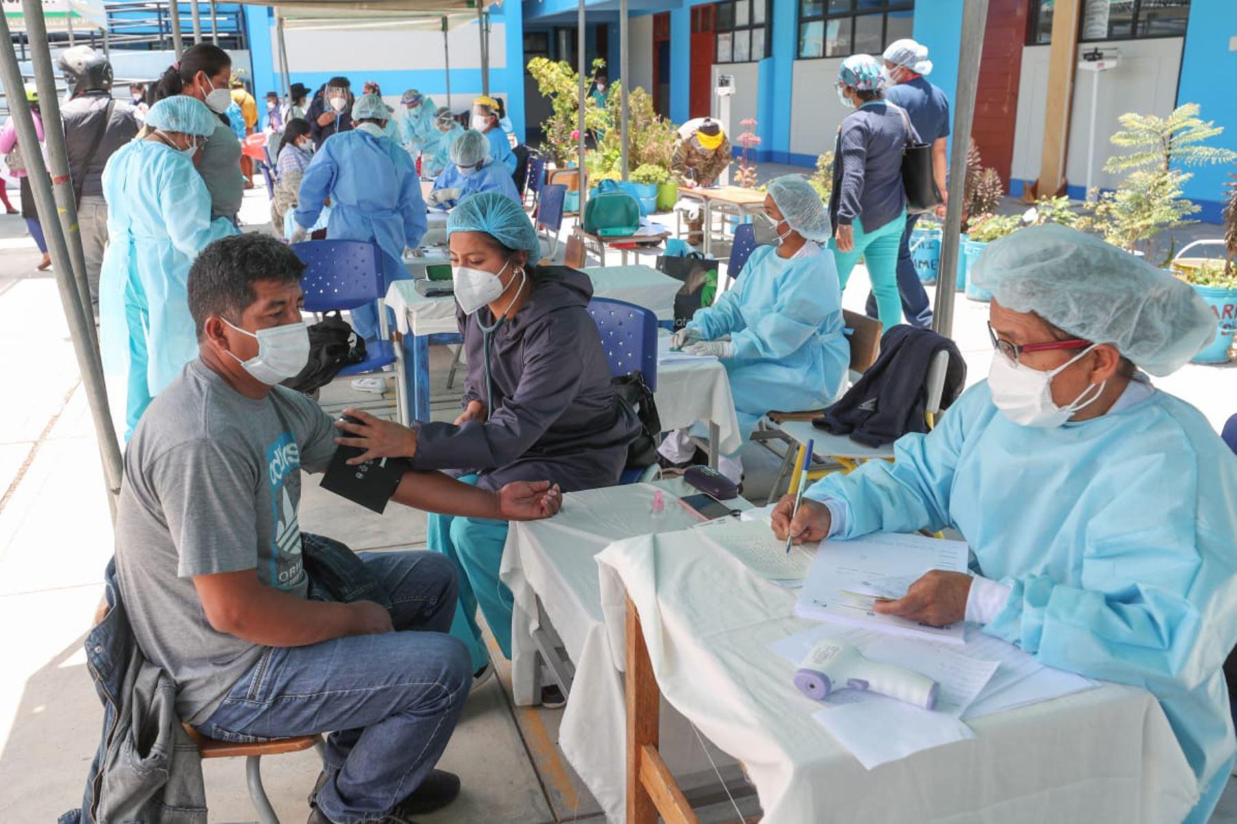 Durante el 19 de octubre se registraron los resultados de 21,342 personas muestreadas para covid-19. Foto: ANDINA/Difusión