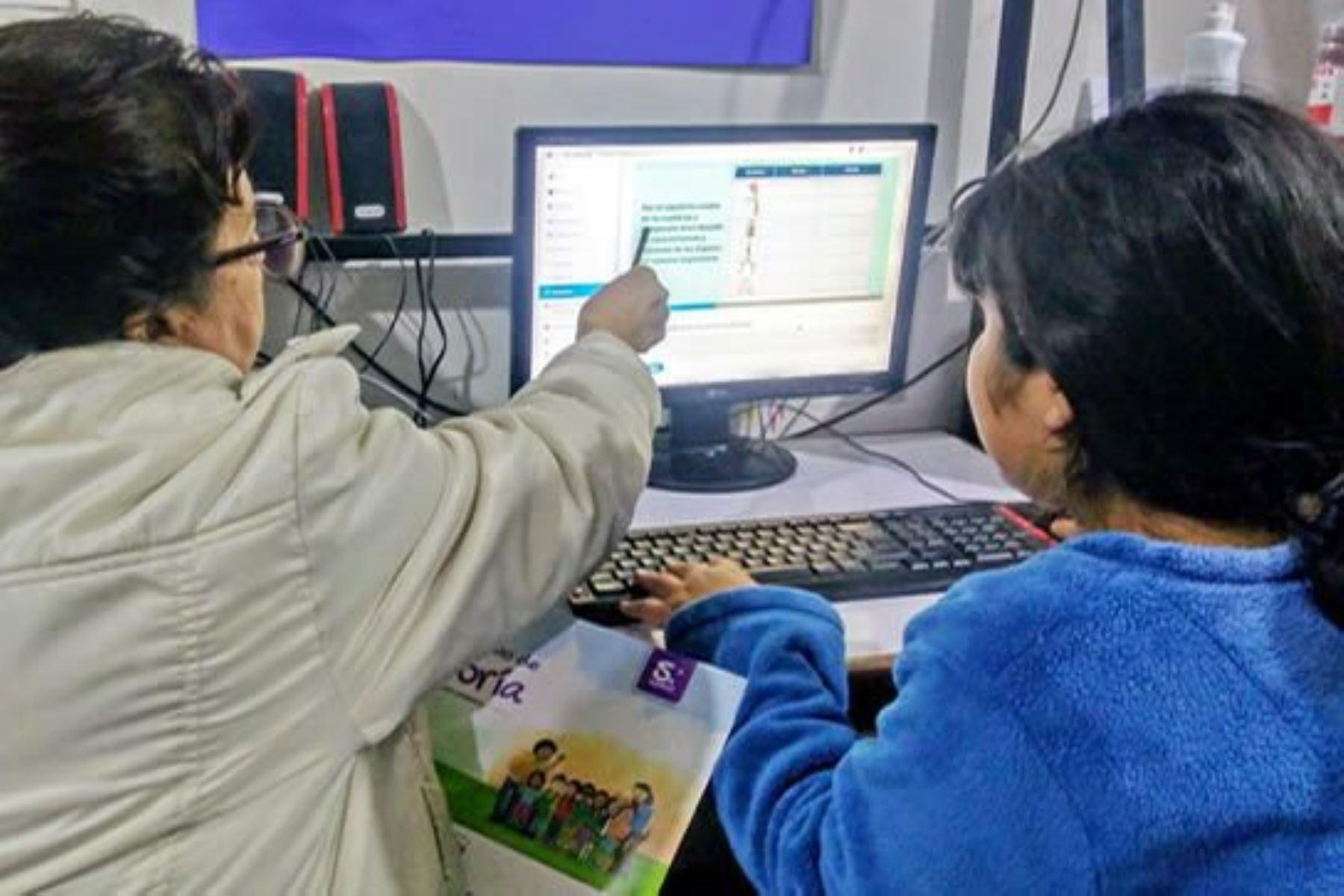 Minedu implementa sistema que identifica a estudiantes con riesgo de abandonar la escuela. Foto: ANDINA/Difusión.