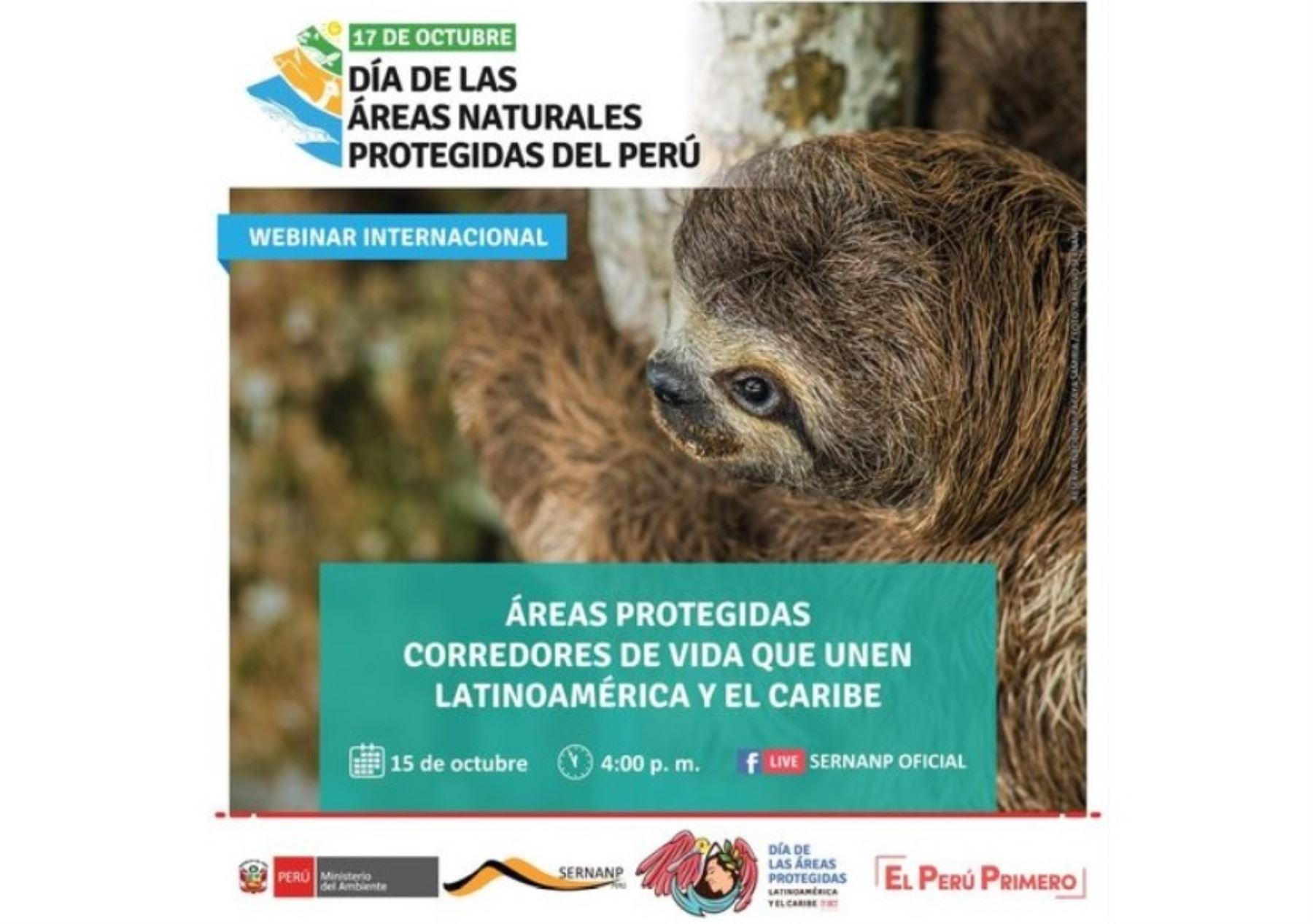 El sábado 17 de octubre se celebra el Día de las Áreas Naturales Protegidas del Perú y el Sernanp ha programado diversas actividades. ANDINA/Difusión