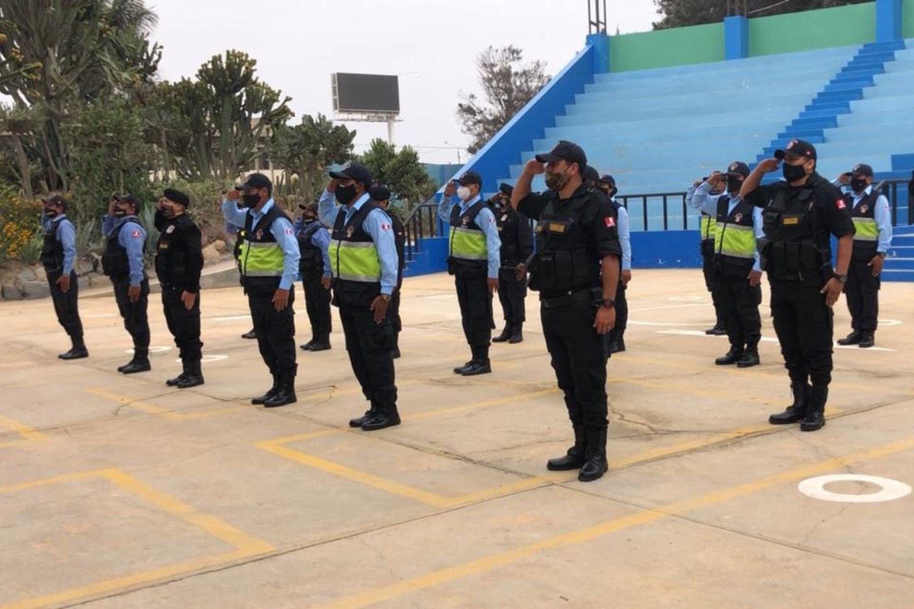 Escuela municipal de serenos comenzó a funcionar en la ciudad de Chiclayo. Foto: ANDINA/Difusión