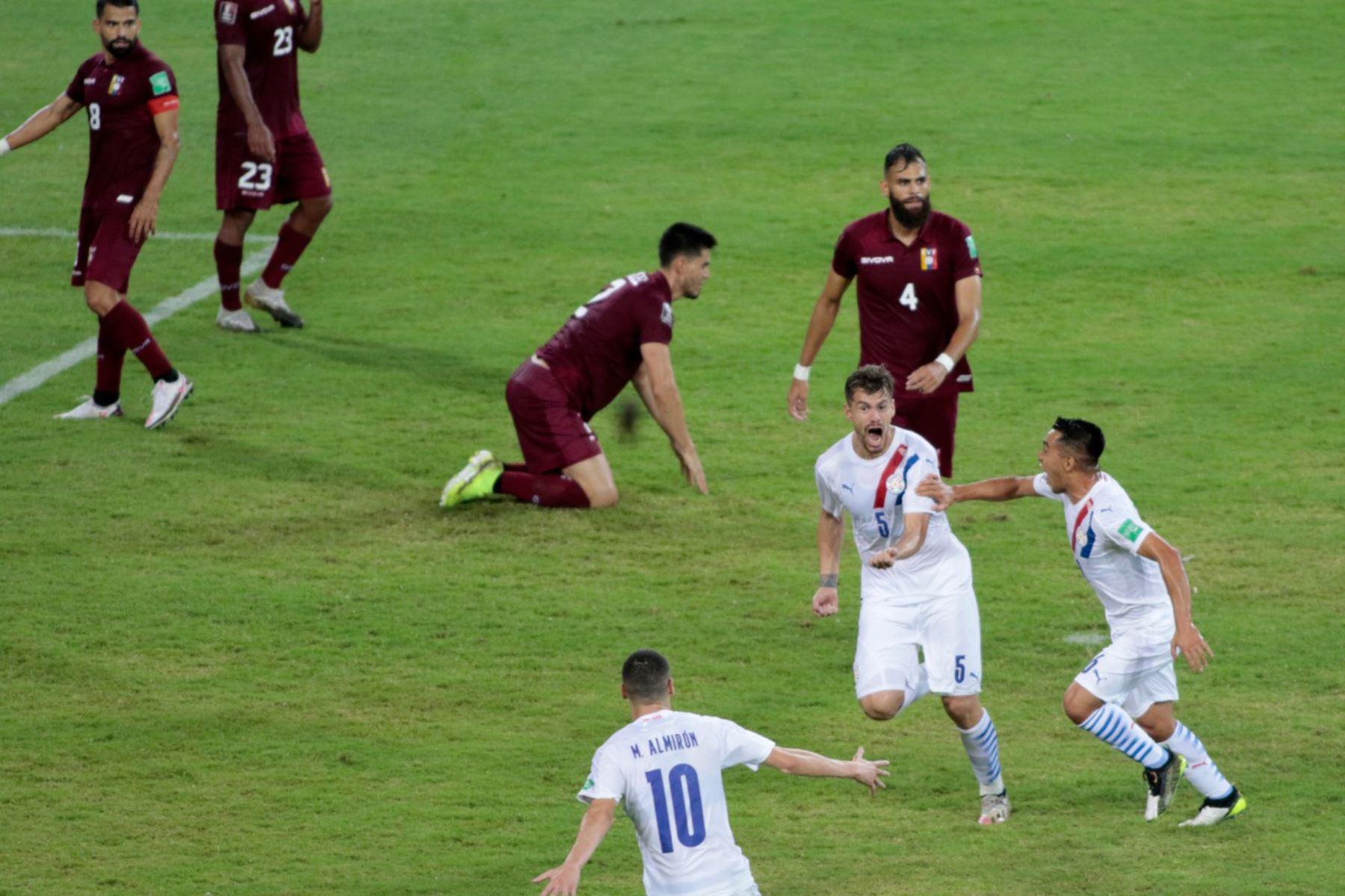 Paraguay consigue una ajustada victoria por 1-0 en su visita a Venezuela   Noticias