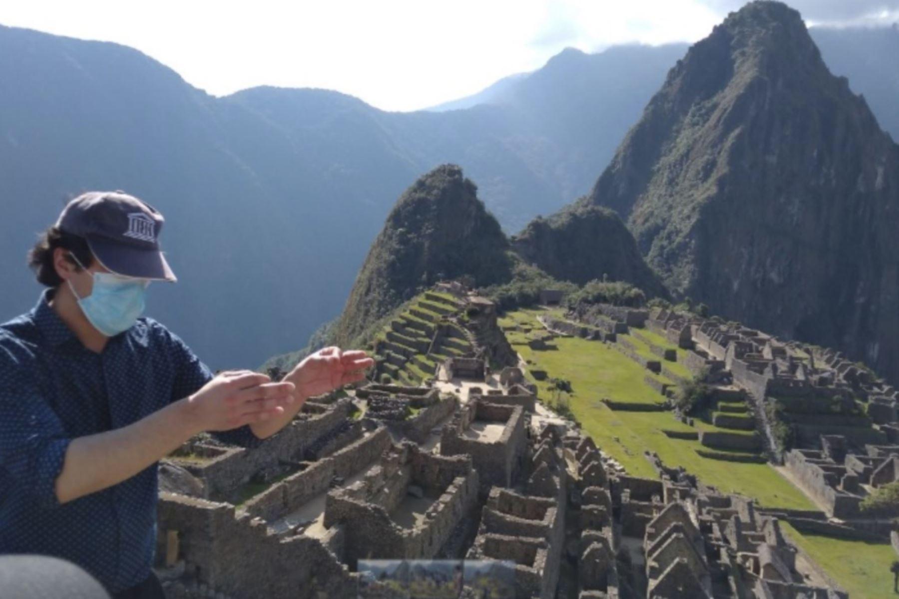 Cusco adelanta para este sábado 17 de octubre reapertura de Machu Picchu al turismo. En esta etapa recibirá solo a visitantes cusqueños y a partir de noviembre a turistas nacionales y extranjeros. ANDINA/Difusión