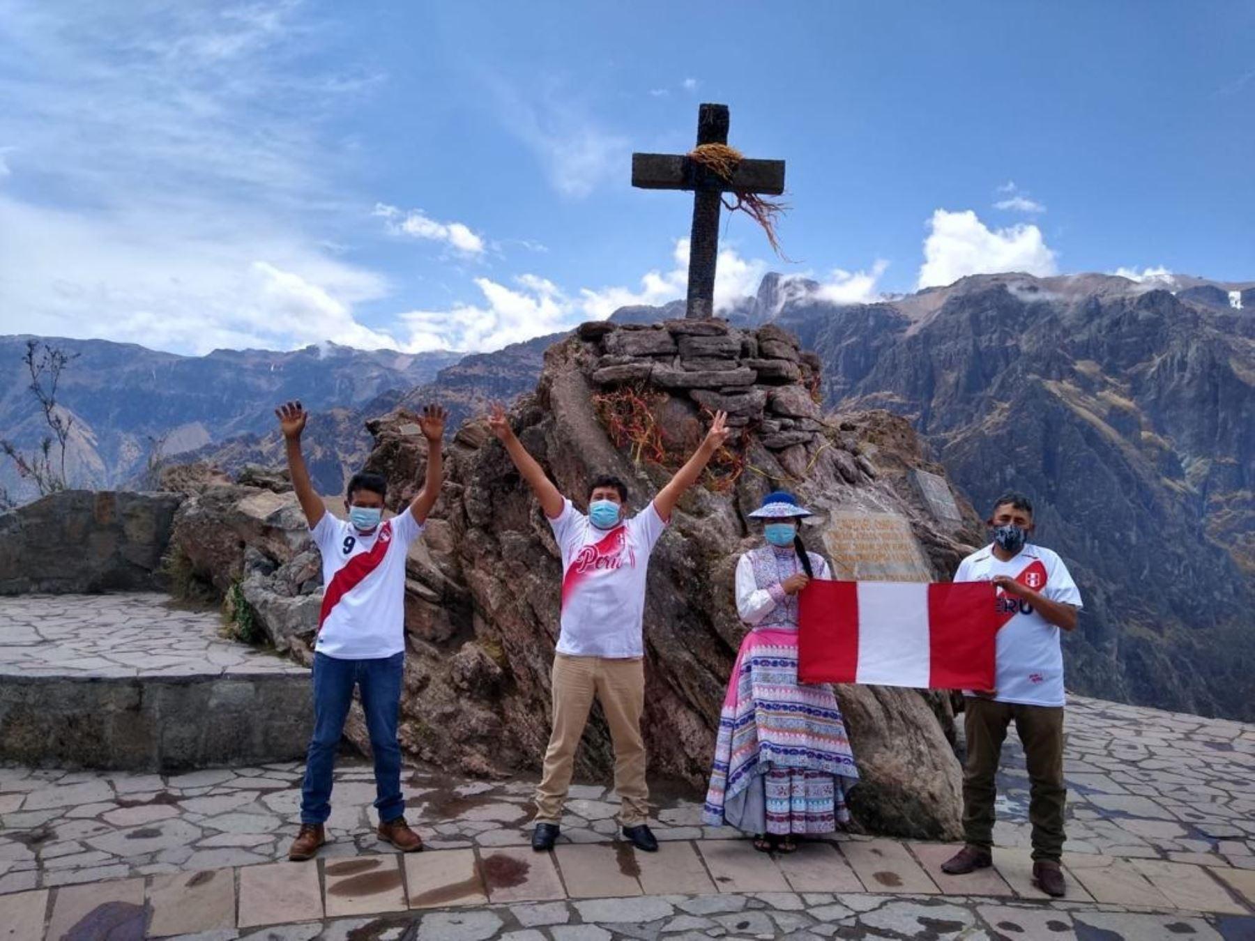 El valle del Colca, el principal atractivo turístico de la región Arequipa, está ubicado en la provincia de Caylloma. Foto: ANDINA/Difusión