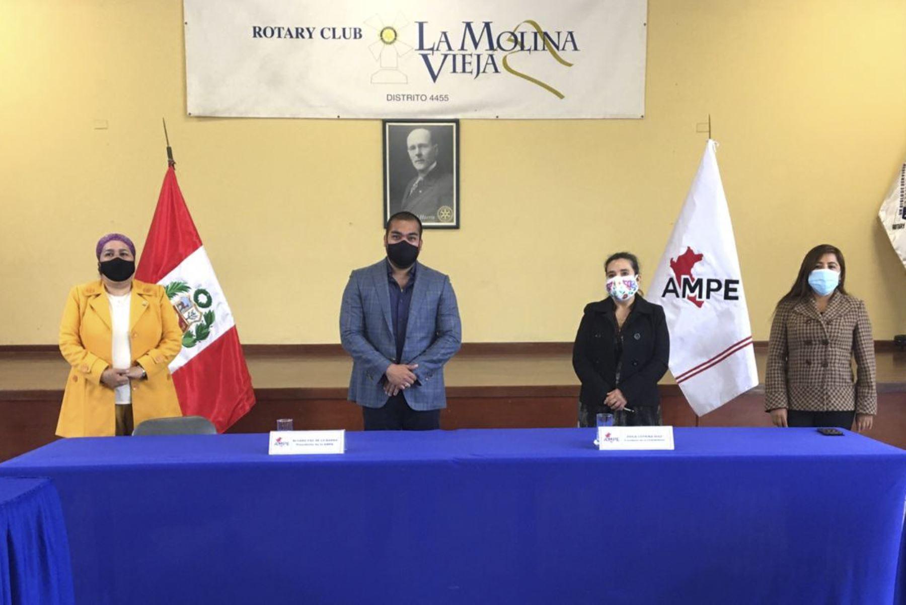 La Ampe es la primera institución del país en suscribir un convenio con la federación de enfermeras para velar por su salud. Foto: ANDINA/Ampe