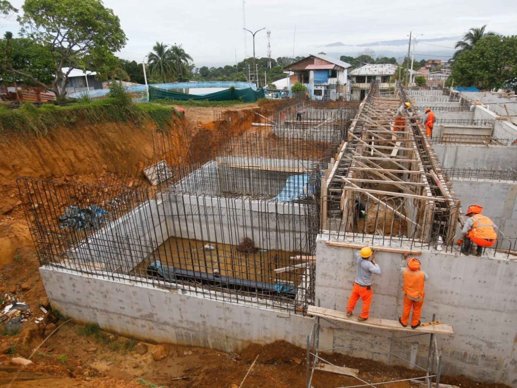 Como parte del plan Arranca Perú 2, diversos municipios de Amazonas recibieron S/ 81.6 millones para ejecutar obras de saneamiento, pistas y veredas.