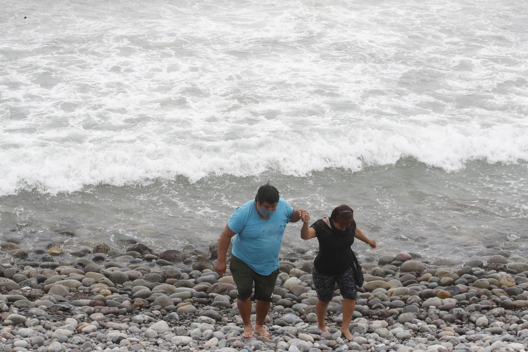 Playas se podrían convertir en nuevos focos de contagio del covid-19. Foto: ANDINA/Juan Carlos Guzmán