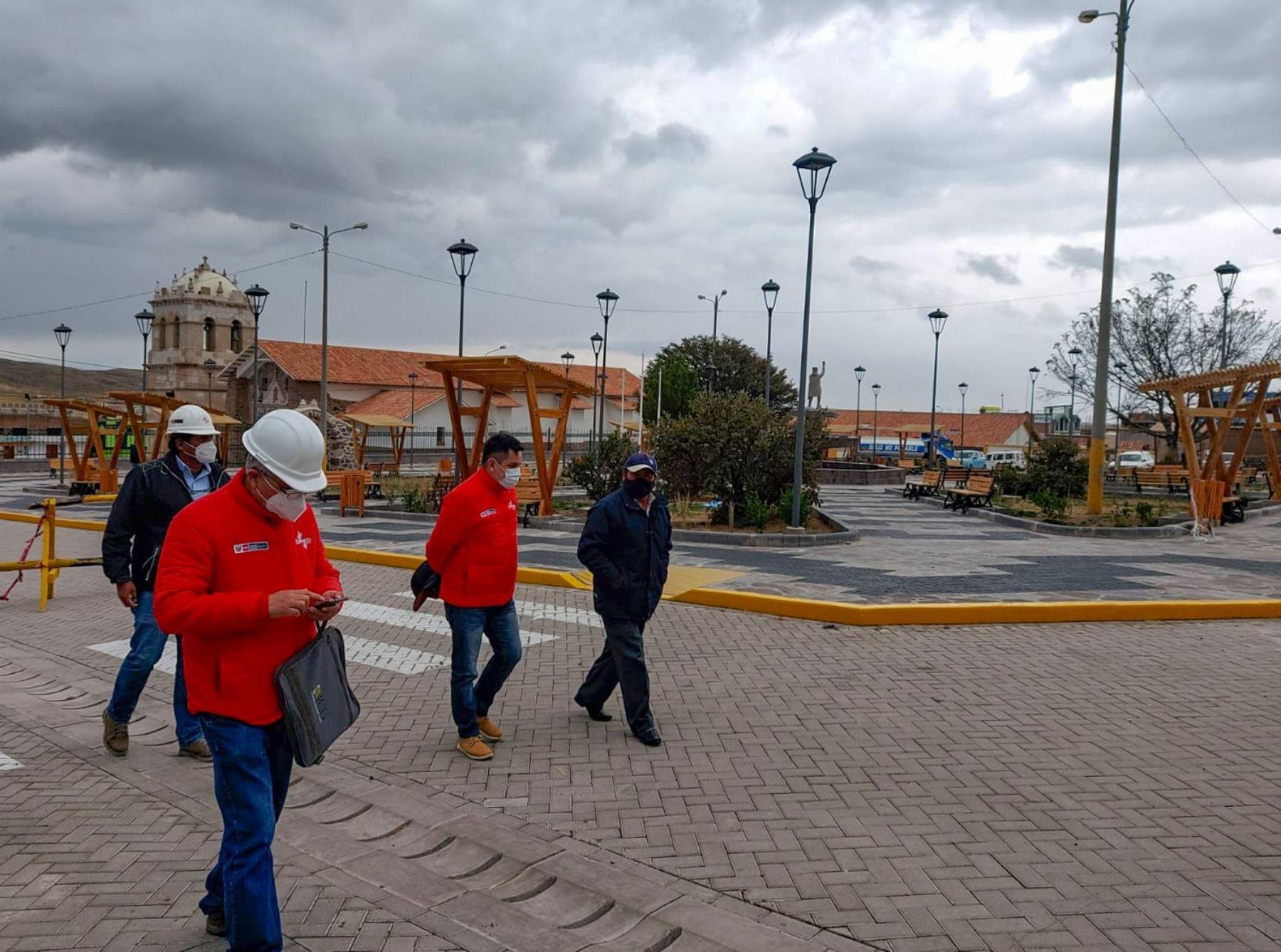 El Plan Copesco culminó las obras de infraestructura turística en Atuncolla, distrito donde se ubican el complejo arqueológico Sillustani y el templo colonial San Andrés. ANDINA/Difusión