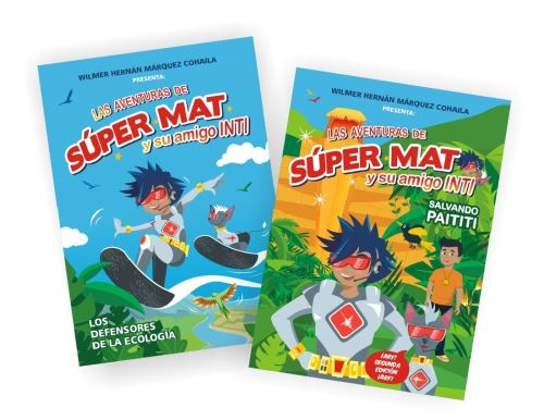 """Presentan libro """"Súper Mat y su amigo Inti""""."""